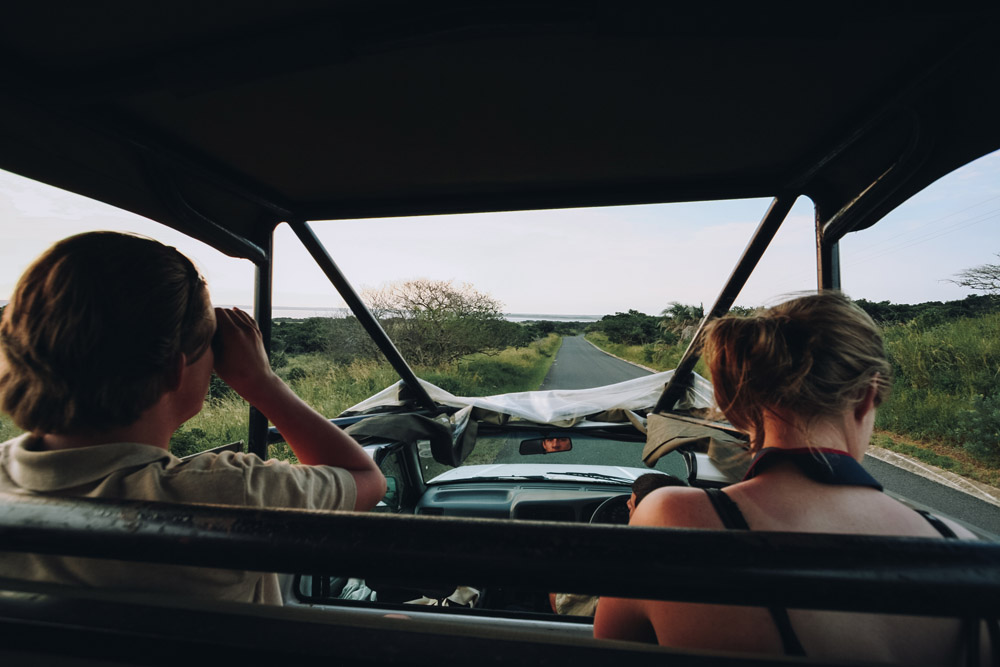 St. Lucia, Zuid-Afrika safari - Map of Joy