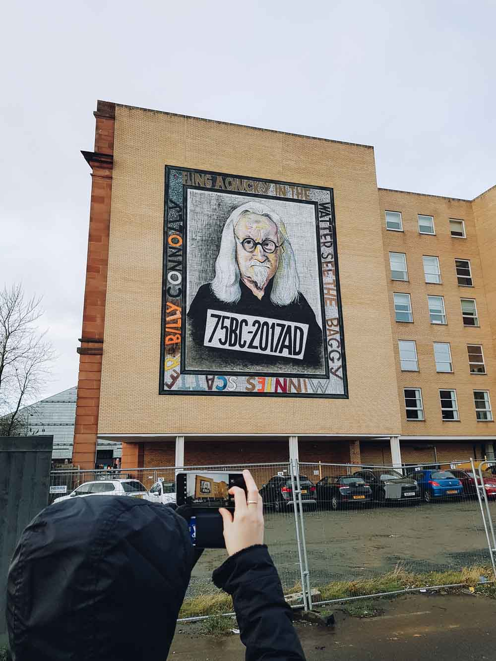 Billy Connolly, Osborne Street, Glasgow - Map of Joy