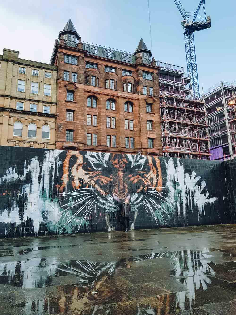 Glasgow's Tiger, Custom House Quay, Glasgow - Map of Joy