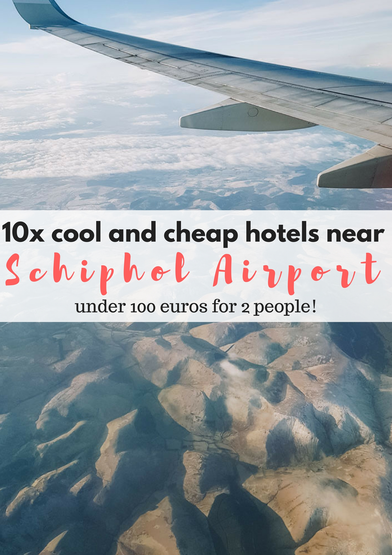 10x cool and cheap hotels near Schiphol Airport, Amsterdam - Map of Joy
