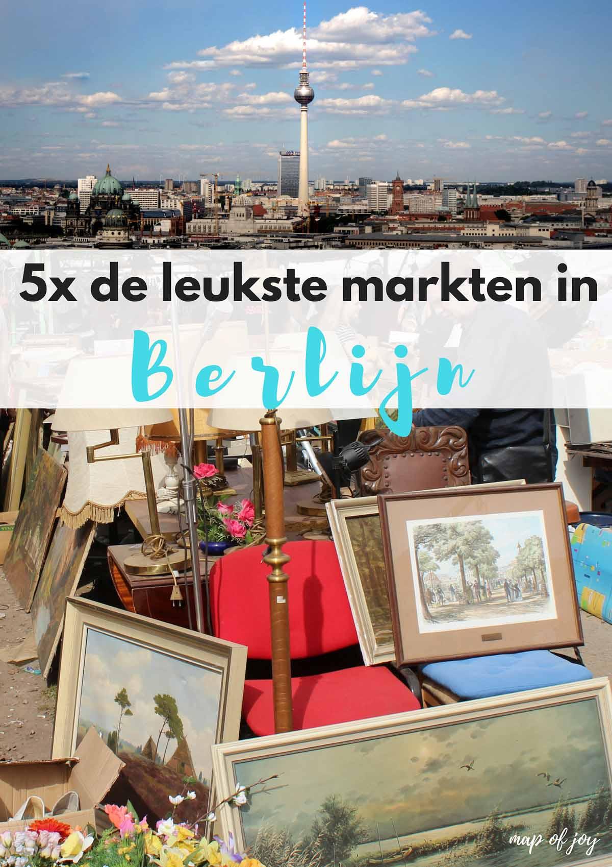 5x de leukste markten in Berlijn - Map of Joy