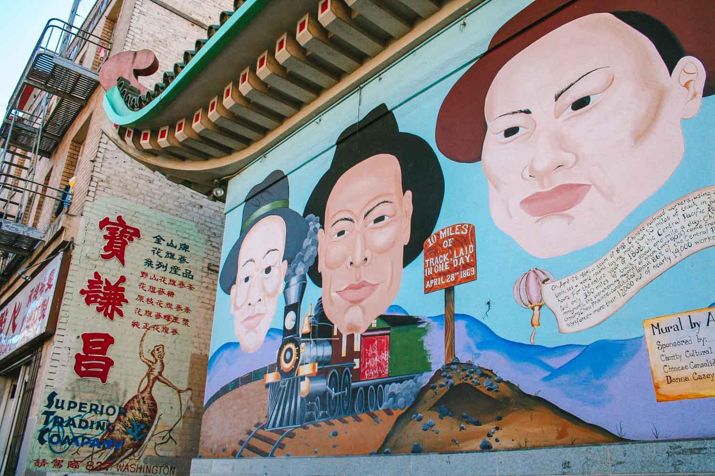 Chinatown, zien in San Francisco - Map of Joy