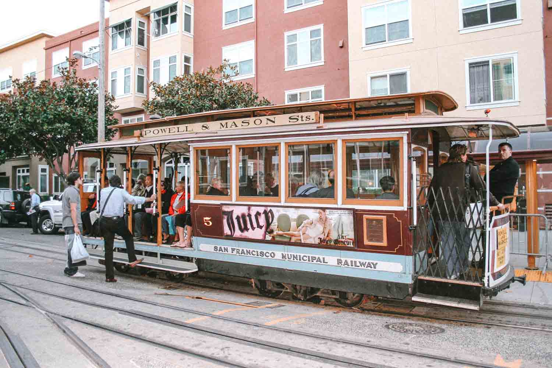 RKabeltram, doen in San Francisco - Map of Joy