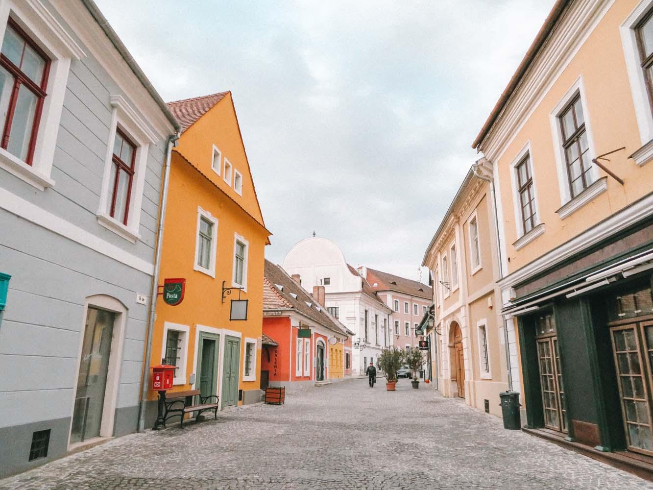 dagtrip vanuit Boedapest naar Szentendre - Map of Joy
