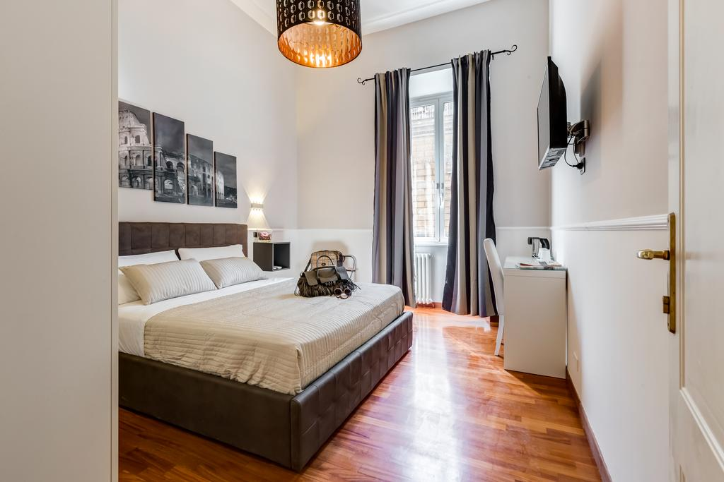 12x leuke, goedkope accommodaties in Rome - Map of Joy