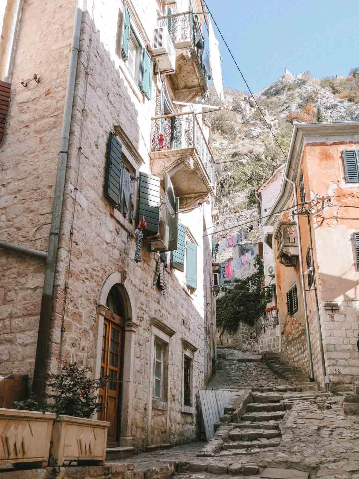 bezienswaardigheden Kotor Montenegro - Map of Joy