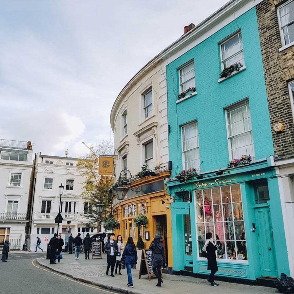 Reizen naar Londen, wat is de beste optie? - Map of Joy