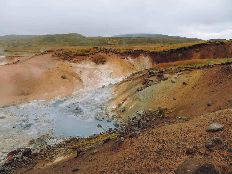 Doen in IJsland: bezoek Krýsuvík-Seltun - Map of Joy