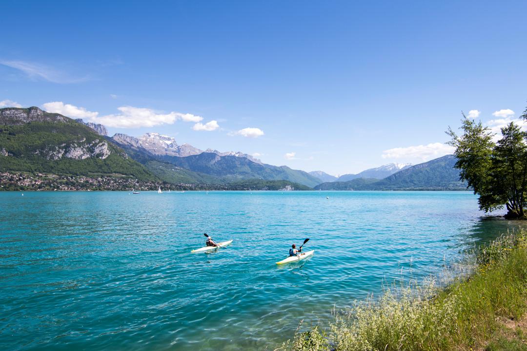 Doen op en rond het meer van Annecy, Frankrijk - Map of Joy