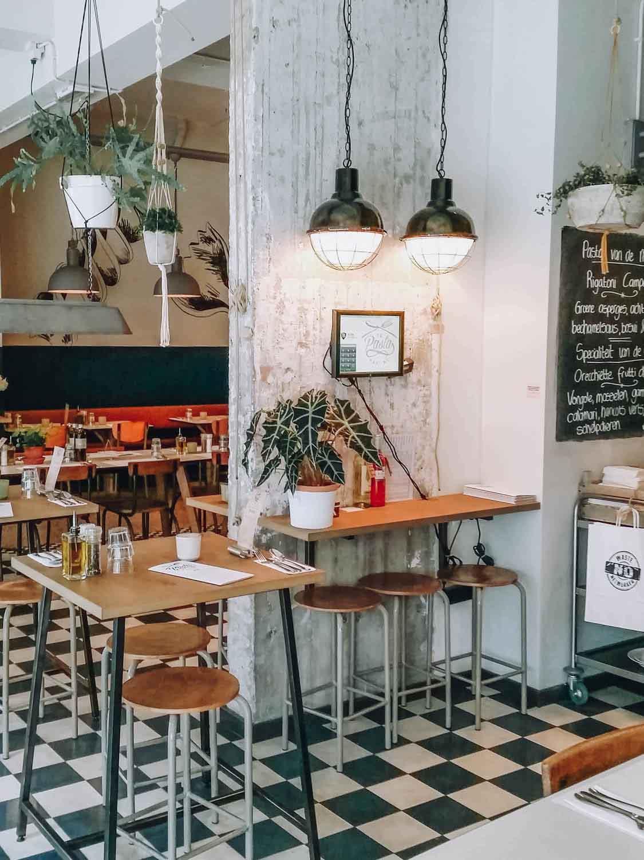 De Pasta Kantine, food hotspot Rotterdam - Map of Joy