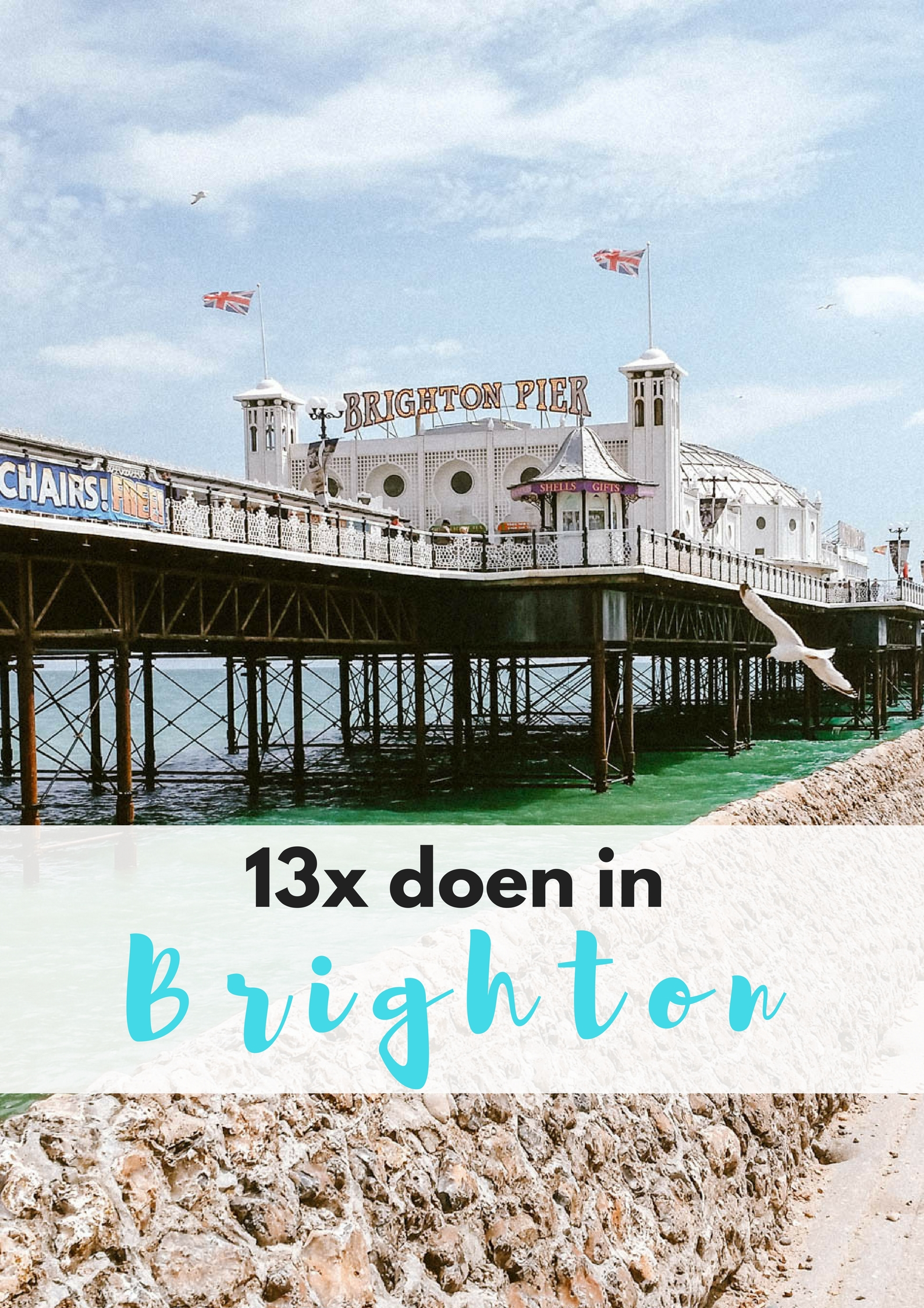 13x doen in Brighton - Map of Joy