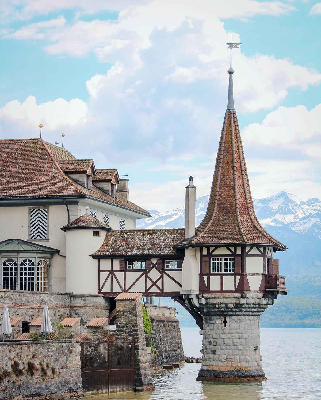 Oberhofen, Zwitserland - Map of Joy