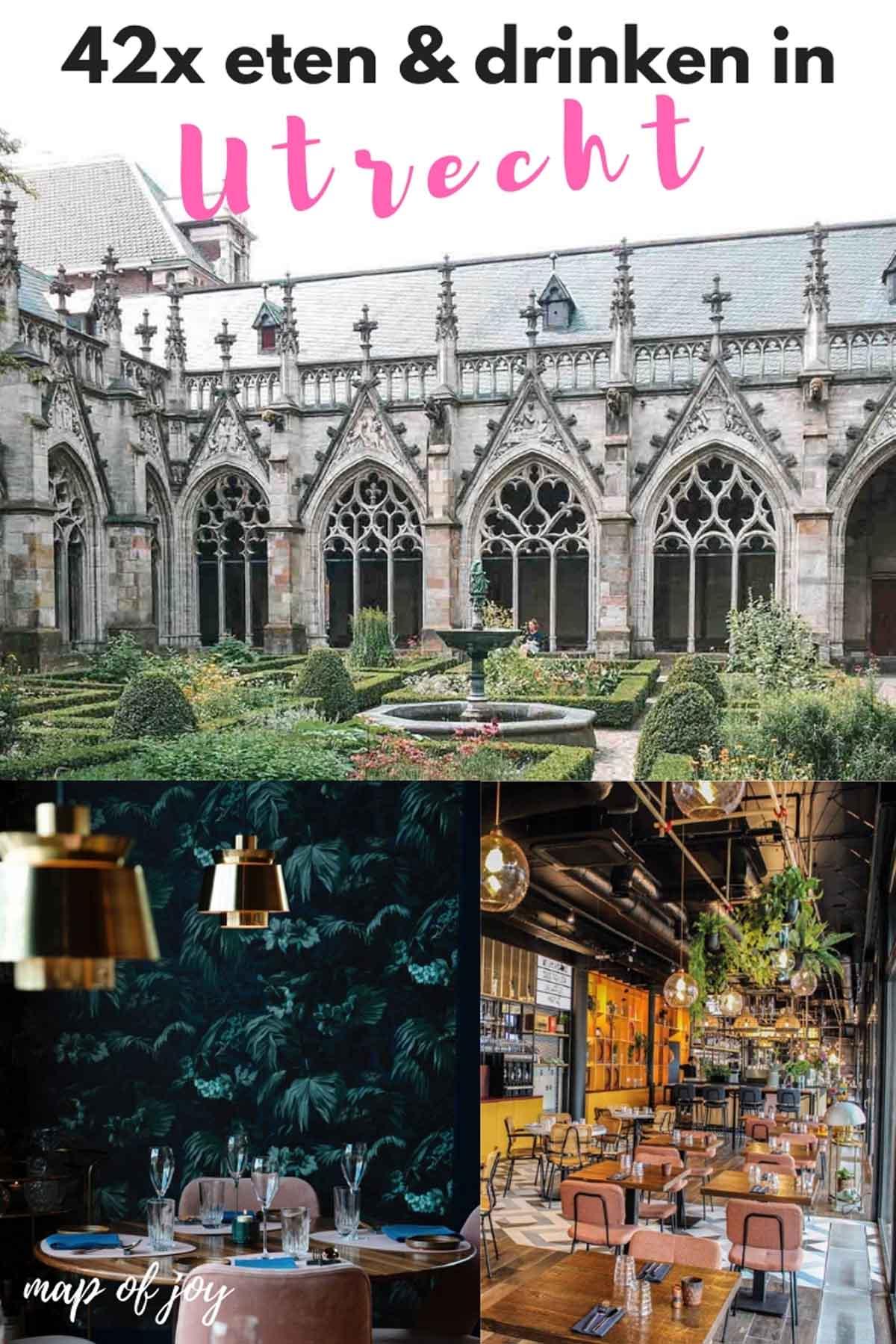 42x eten en drinken in Utrecht