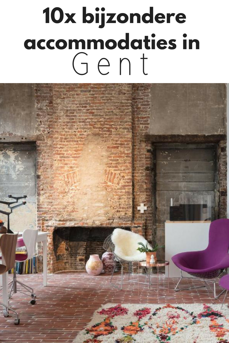 10x bijzondere accommodaties in Gent - Map of Joy