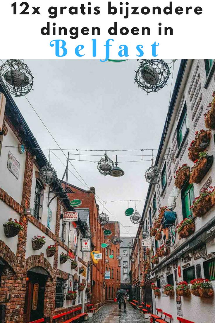 12x gratis bijzondere dingen doen in Belfast - Map of Joy