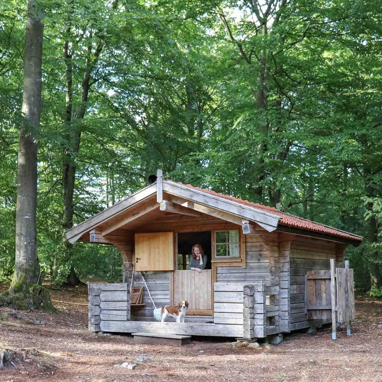 Bijzonder overnachten in het bos in Skåne - Map of Joy