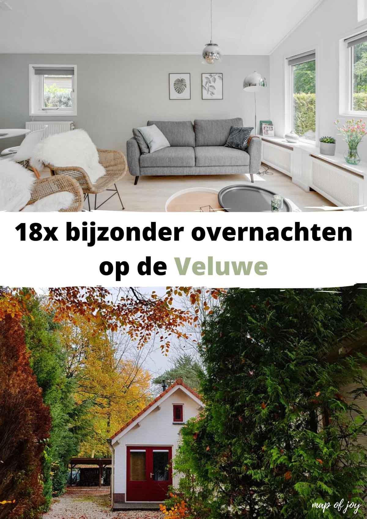 18x bijzonder overnachten op de Veluwe