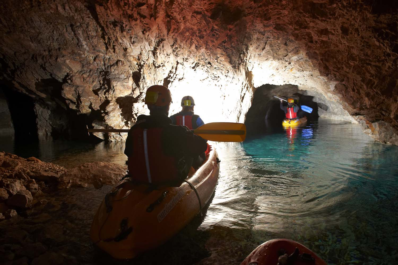 6x wandelen, fietsen of kajakken in de mooiste grotten van Slovenië, Krizna Jama grotten - Map of Joy