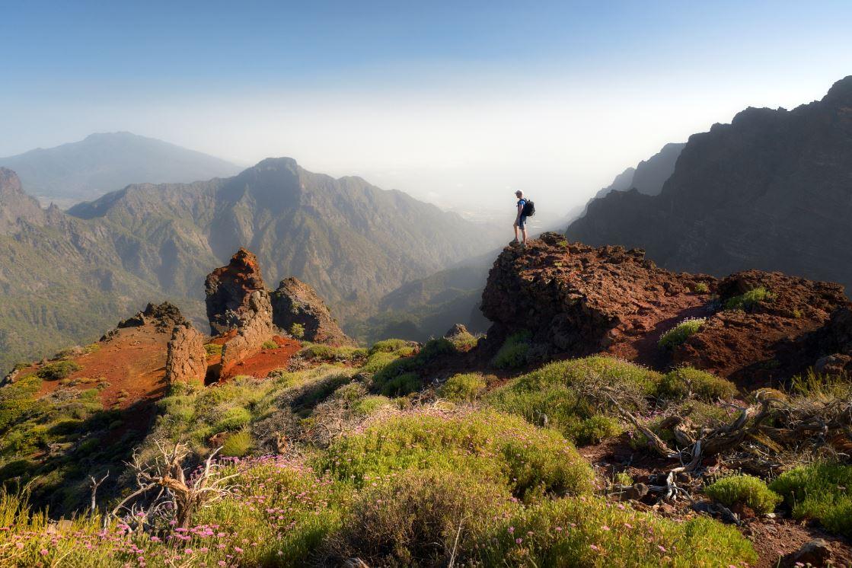 De bergen van La Palma