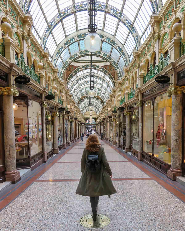 County Arcade, leuke dingen doen in Leeds - Map of Joy