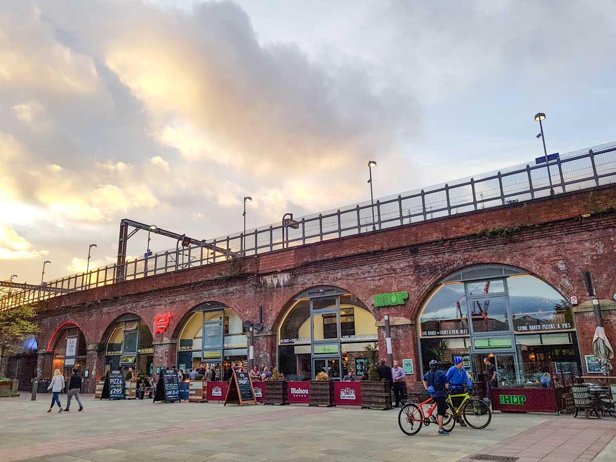 Granary Wharf, leuke dingen doen in Leeds - Map of Joy