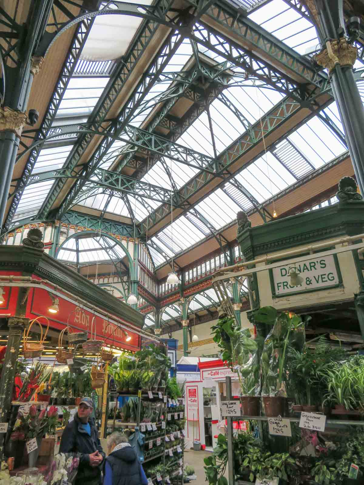 Kirkgate Market, leuke dingen doen in Leeds - Map of Joy