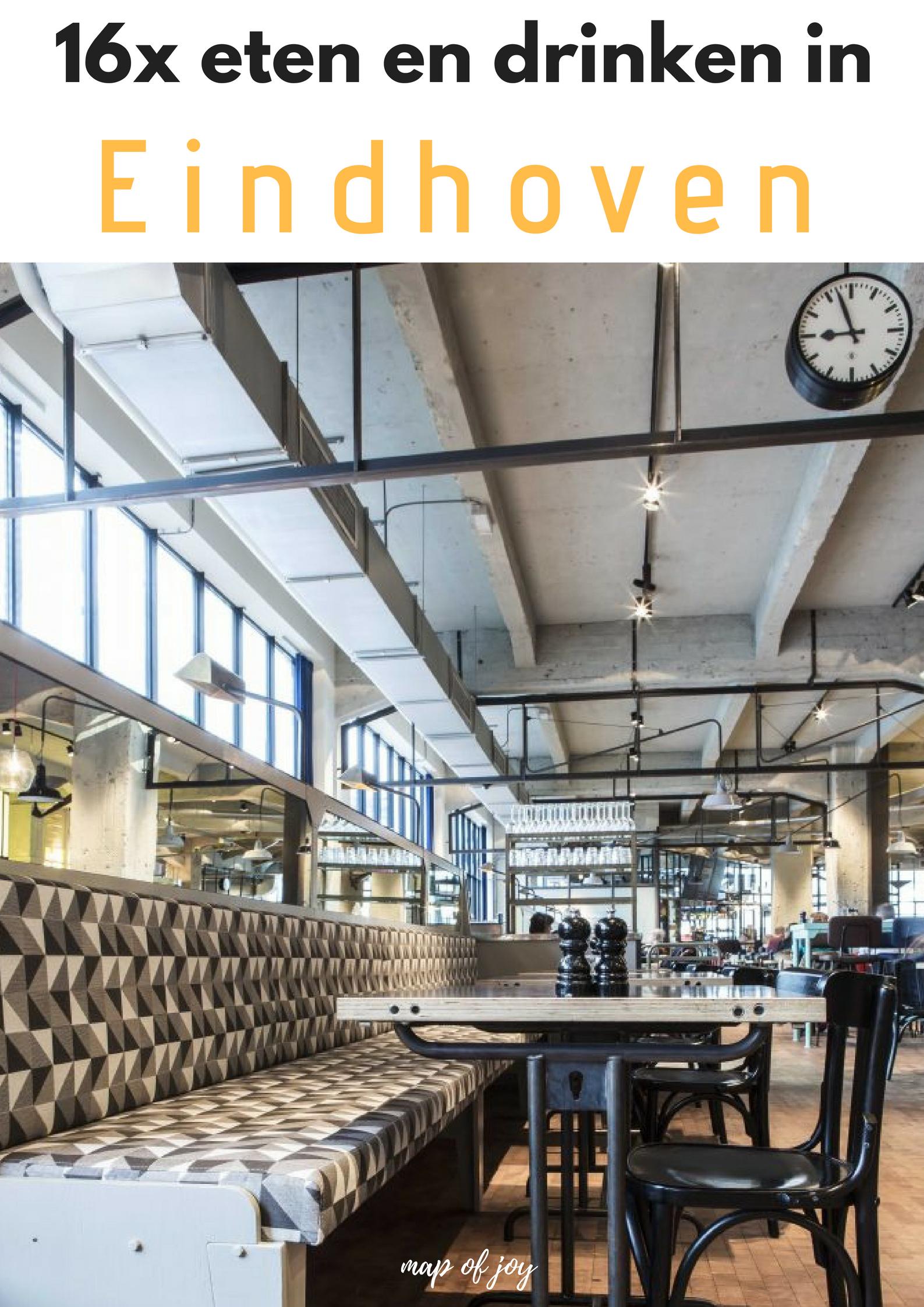 16x eten en drinken in Eindhoven bij deze leuke food hotspots - Map of Joy