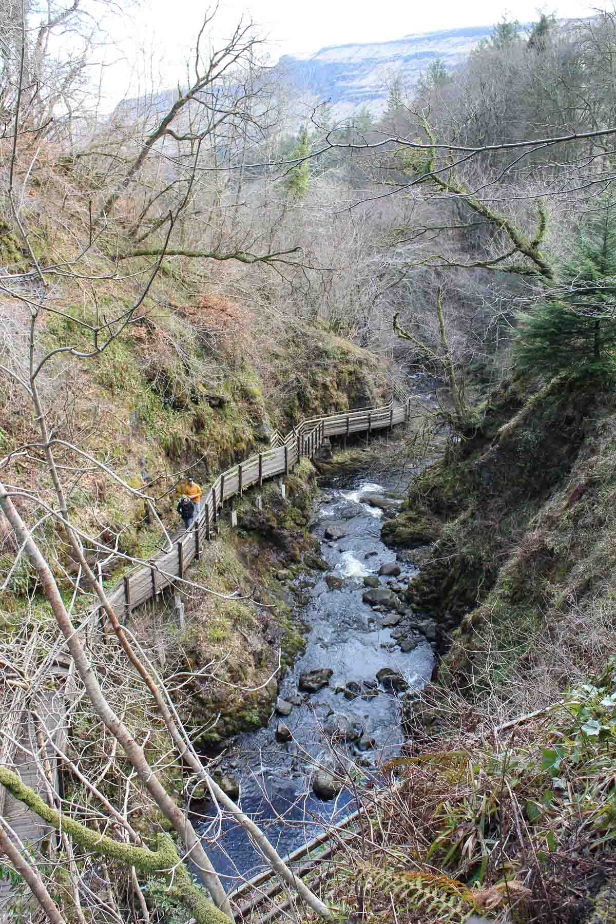 Glenariff Forest Park, bezienswaardigheid Causeway Coastal Route - Map of Joy