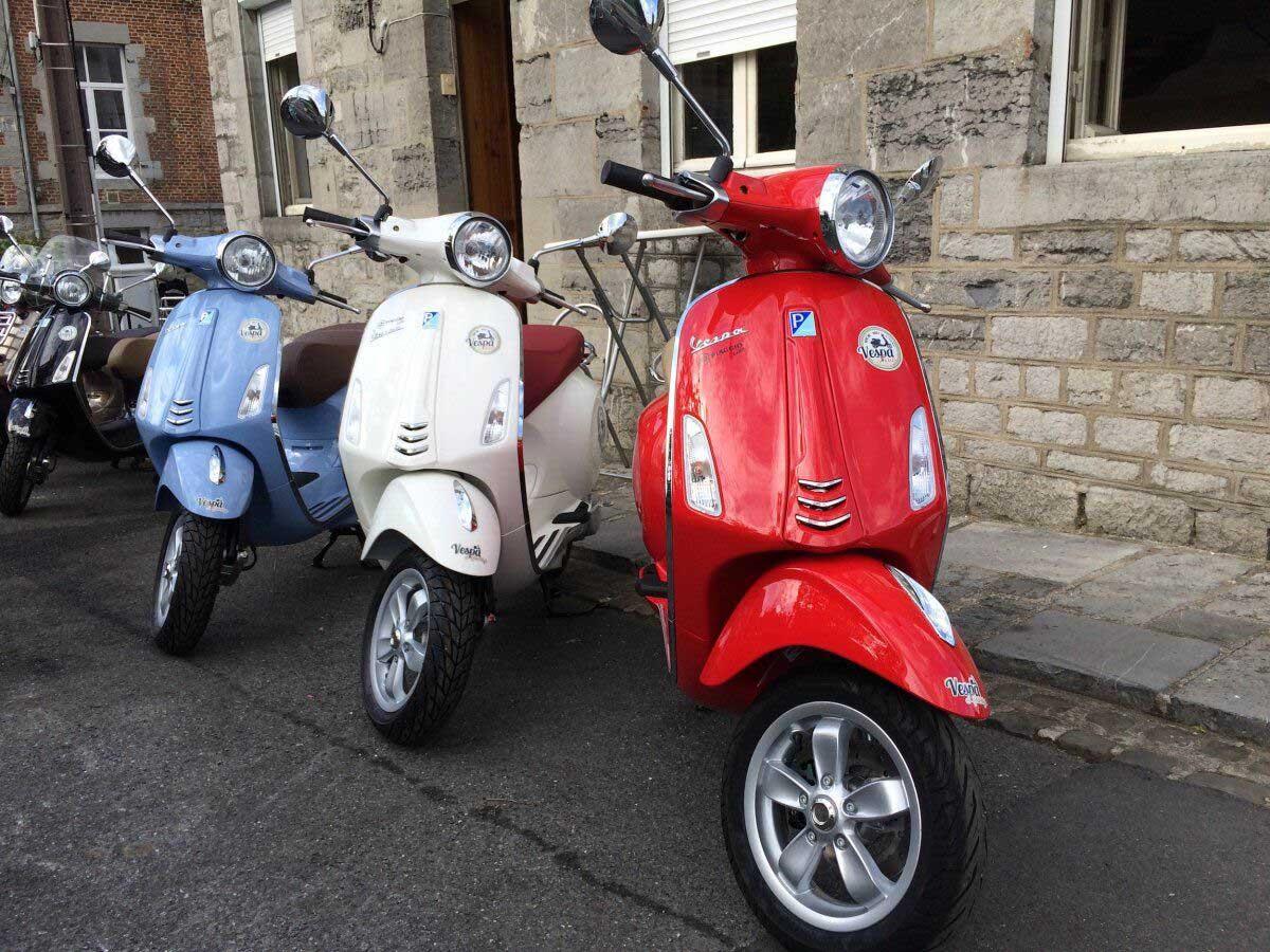 7x leuke dingen doen in de Franse Ardennen, huur een vespa scooter - Map of Joy
