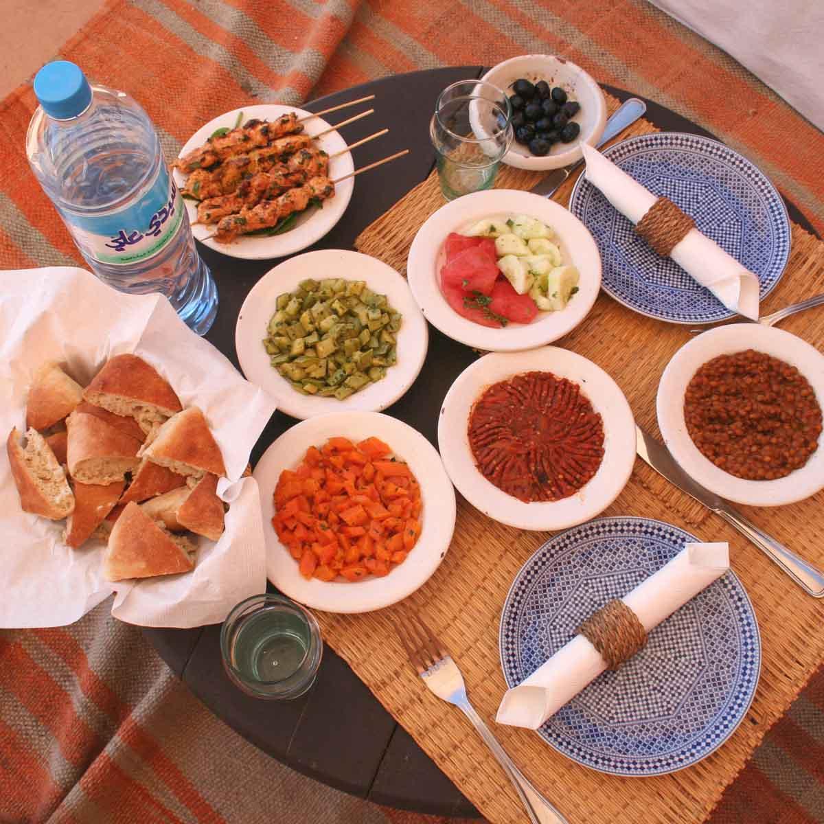Marokkaans eten, 15x leuke dingen doen in en vanuit Marrakech - Map of Joy