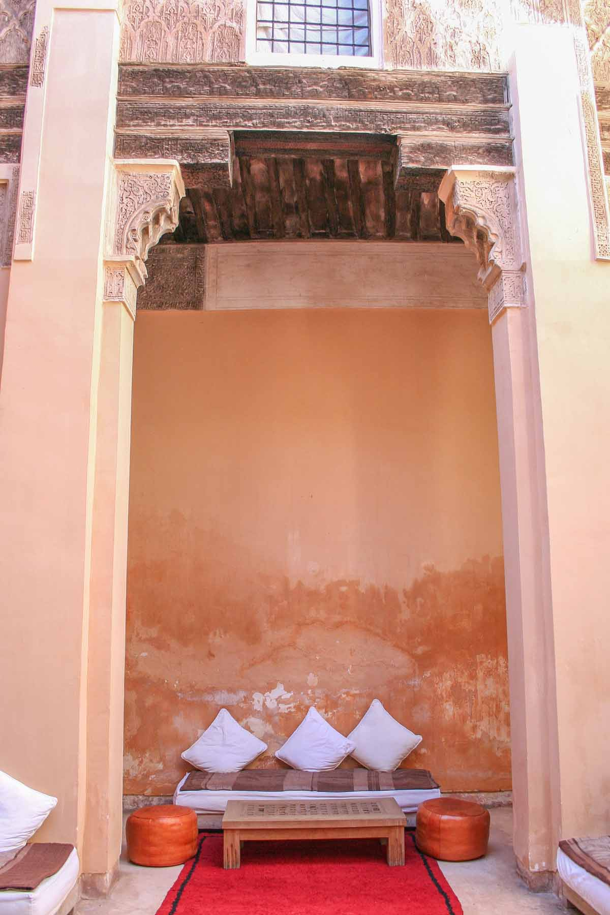 Slapen in een Riad in Marrakech - Map of Joy