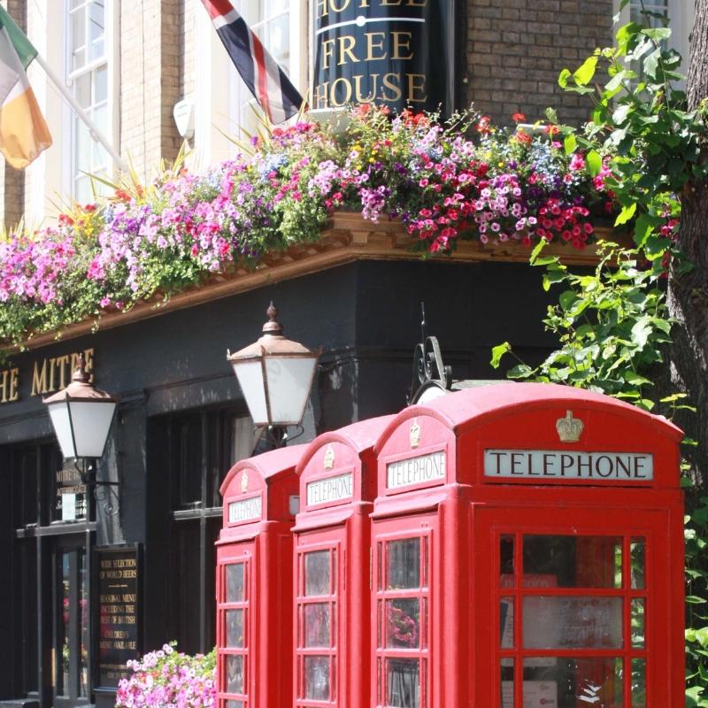 Reizen naar Londen: trein, vliegtuig, bus of boot - Map of Joy