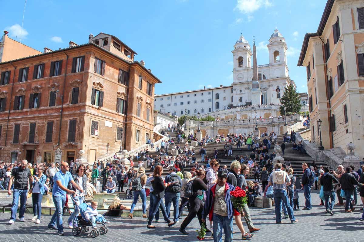 Spaanse Trappen, Tridente, 9x de leukste wijken in Rome - Map of Joy