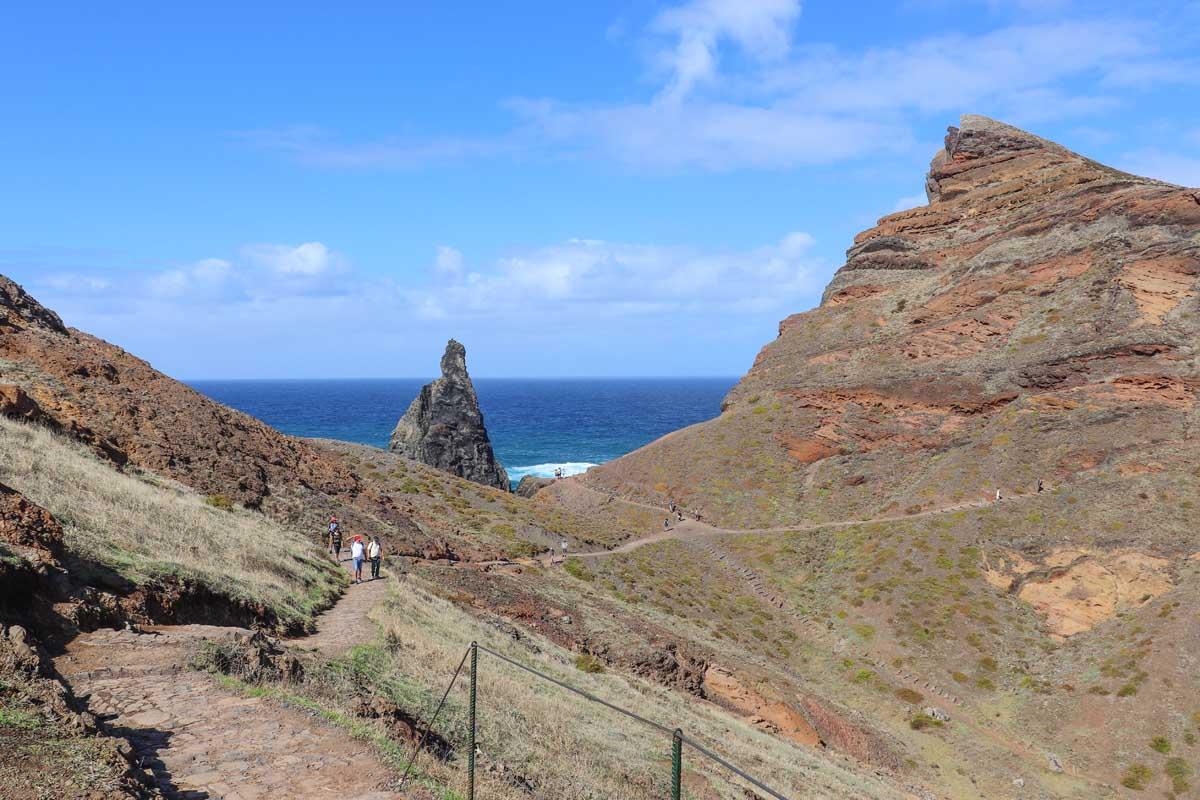 makkelijke wandeling Madeira, Vereda da Ponta de São Lourenço - Map of Joy