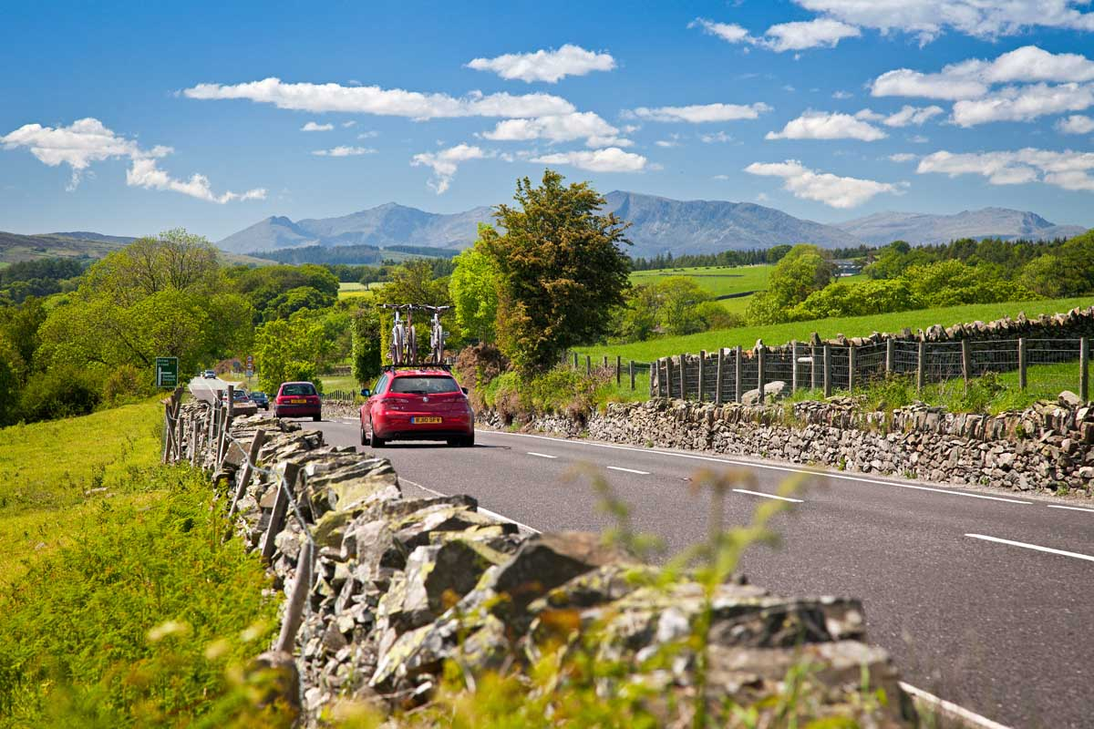 Roadtrip route The Cambrian Way