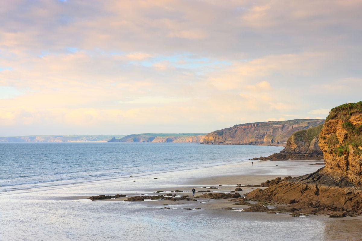 Roadtrip route The Coastal Way, Pembrokeshire, Wales