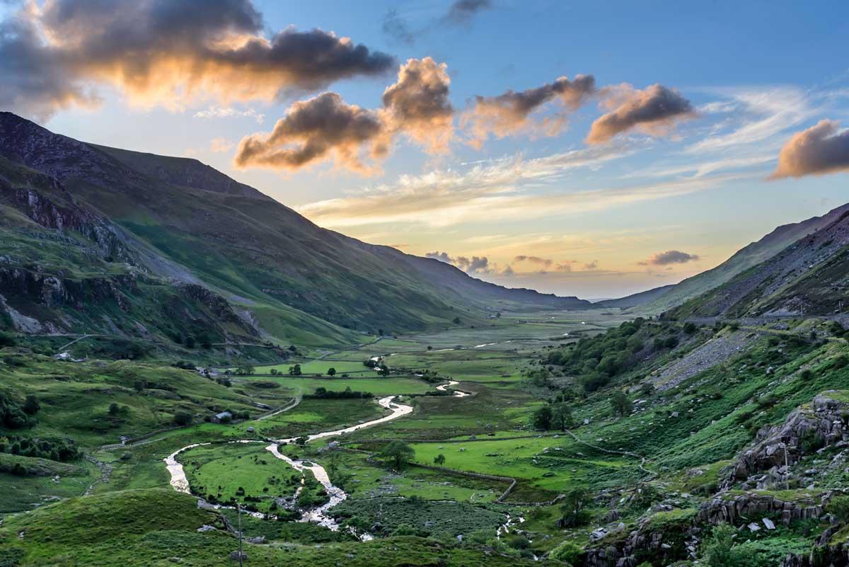 Roadtrip route The Cambrian Way, Snowdonia