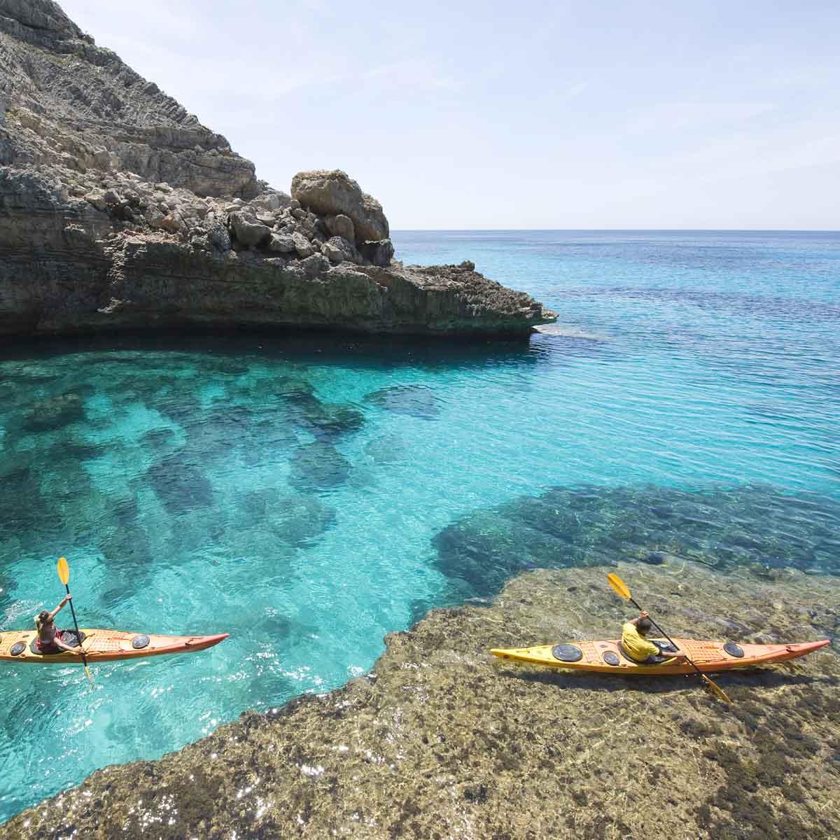 7x actief doen op Formentera