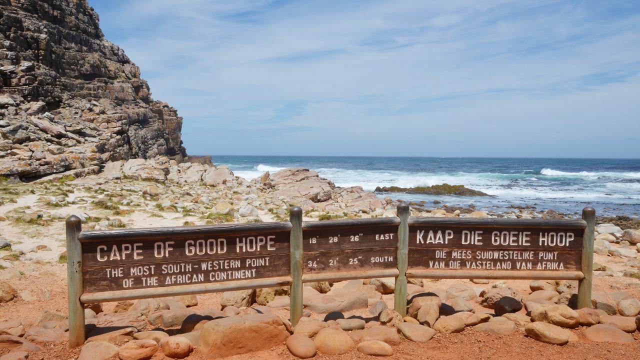 5x de leukste roadtrips in Zuid-Afrika, Kaapstad - Map of Joy
