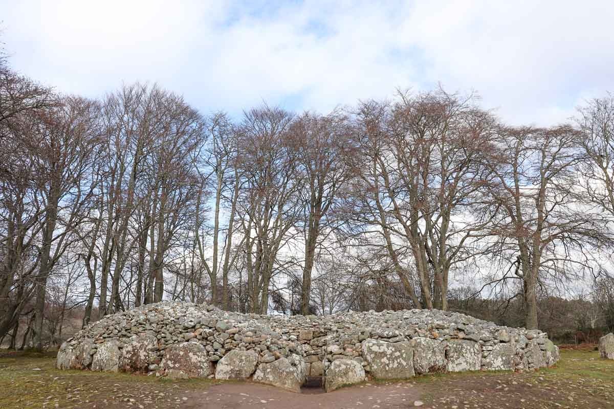 De leukste dingen om te doen in en rond Inverness, Clava Cairns- Map of Joy