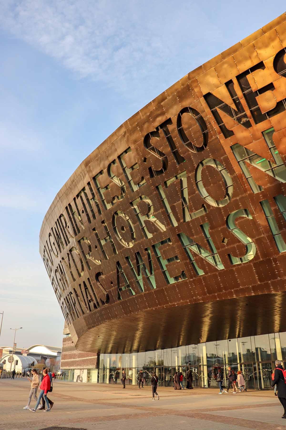 De leukste dingen om te doen in Cardiff, Wales Millennium Centre - Map of Joy