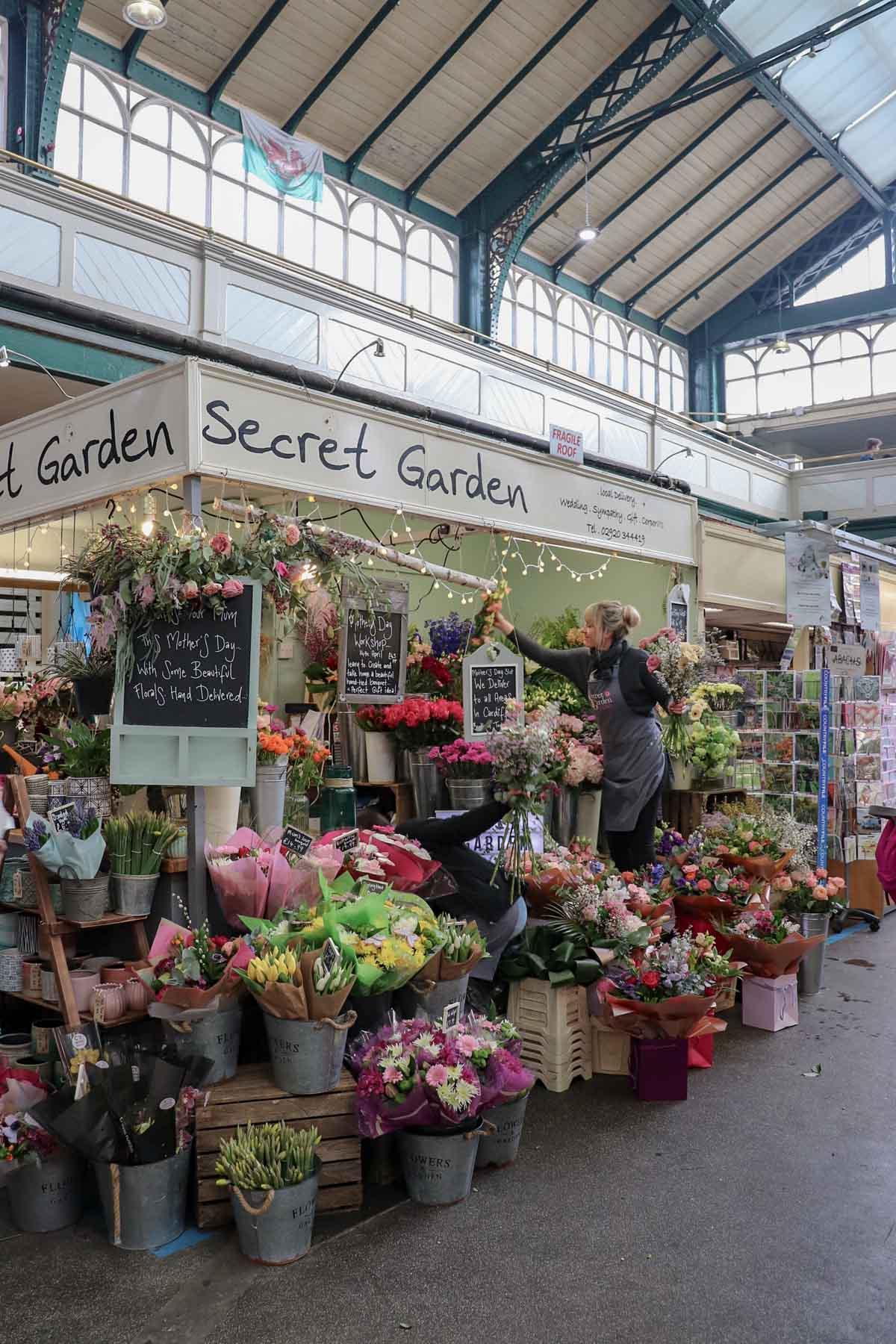 De leukste dingen om te doen in Cardiff, Cardiff Market - Map of Joy