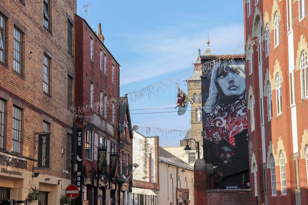 De leukste dingen om te doen in Cardiff, Womanby Street - Map of Joy