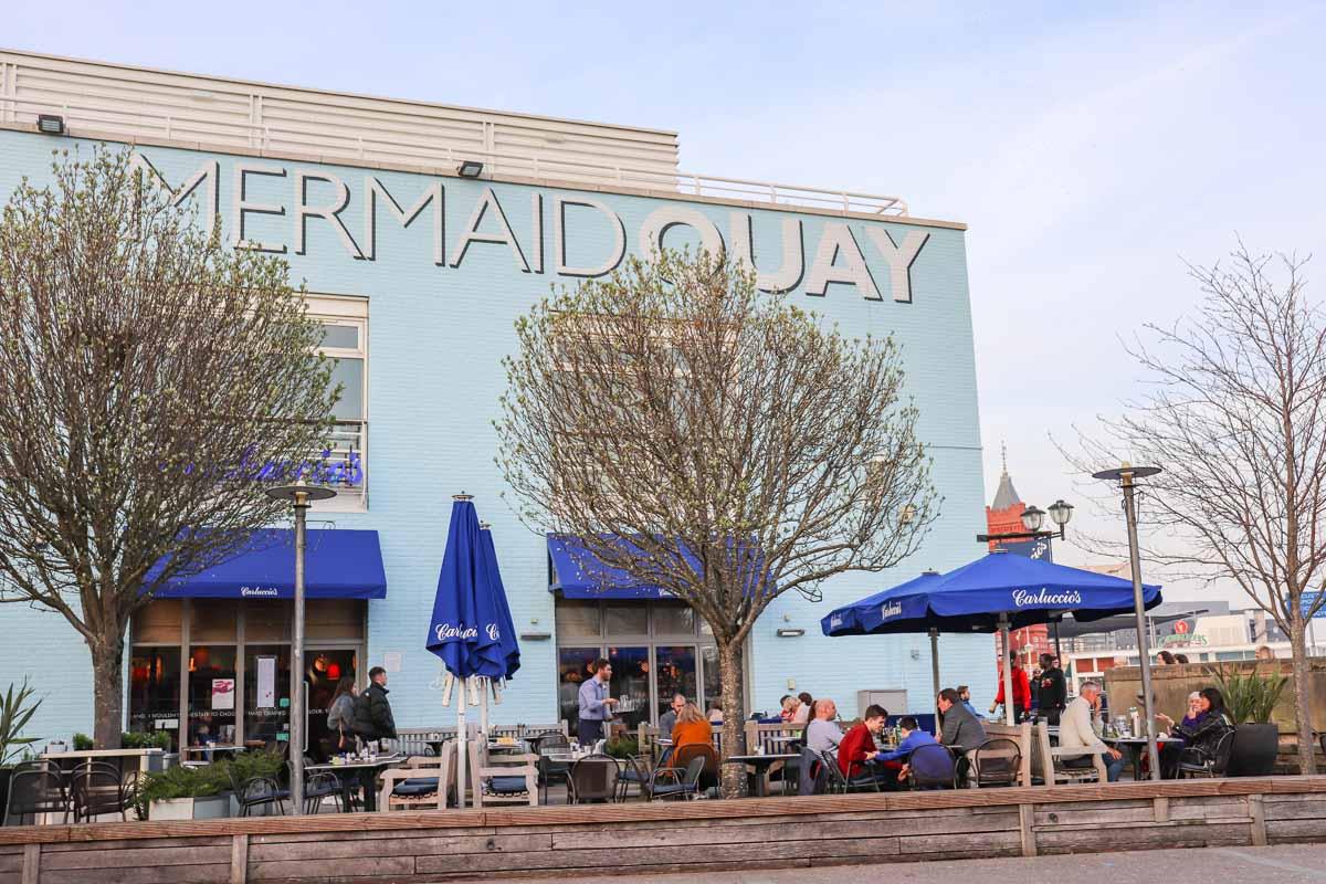De leukste dingen om te doen in Cardiff, Mermaid Quay - Map of Joy