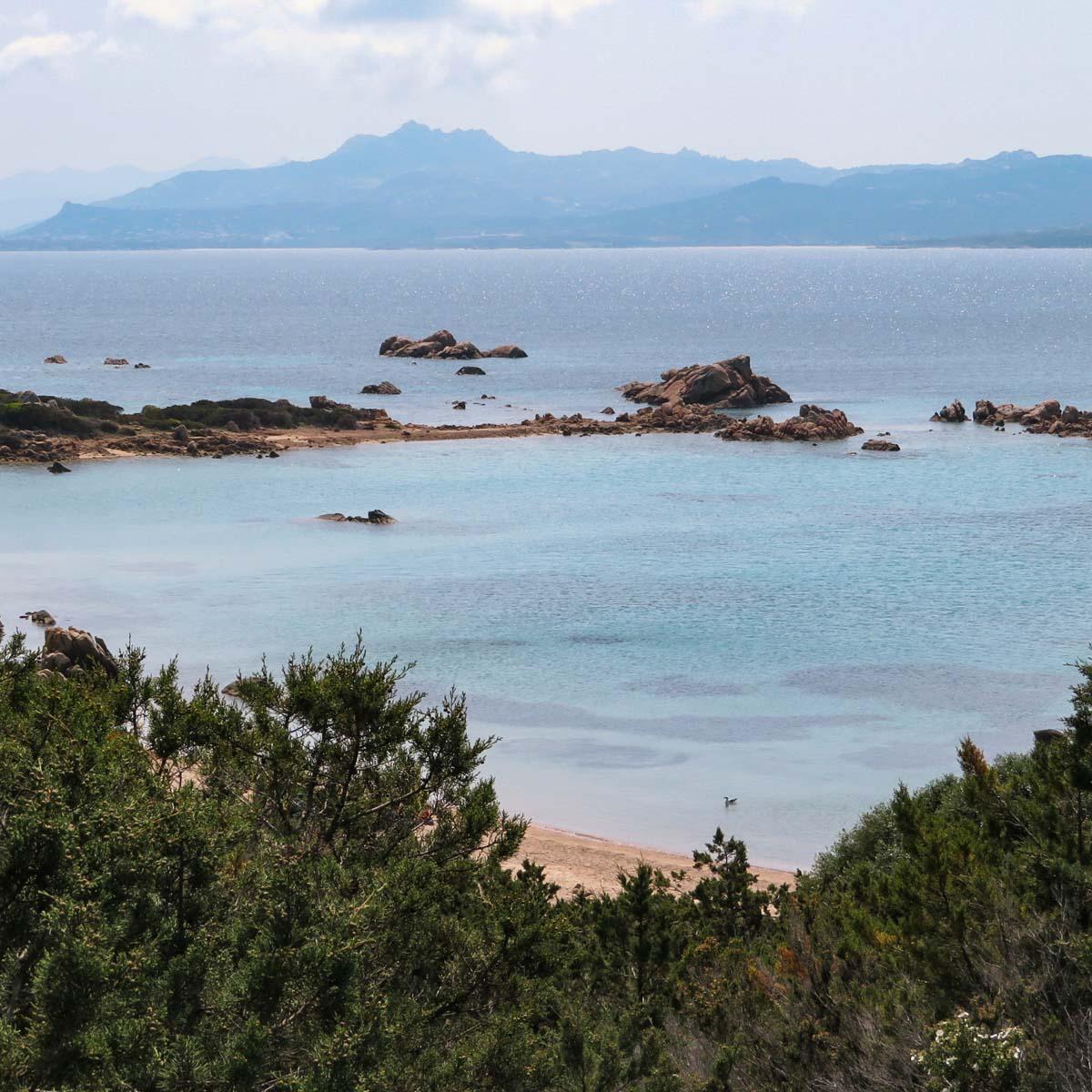 mooiste stranden Noord-Sardinië