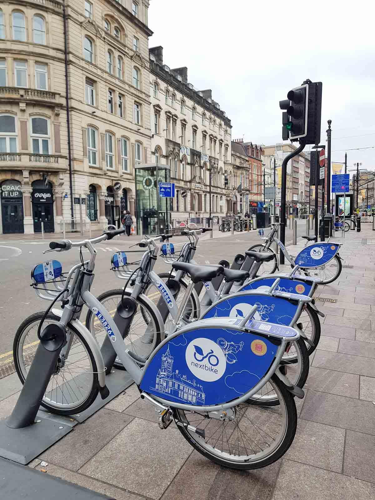 De leukste dingen om te doen in Cardiff, Nextbike - Map of Joy