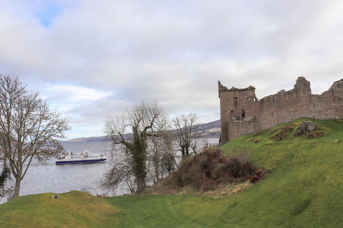Boottocht Loch Ness en Urquhart Castle bezoeken - Map of Joy