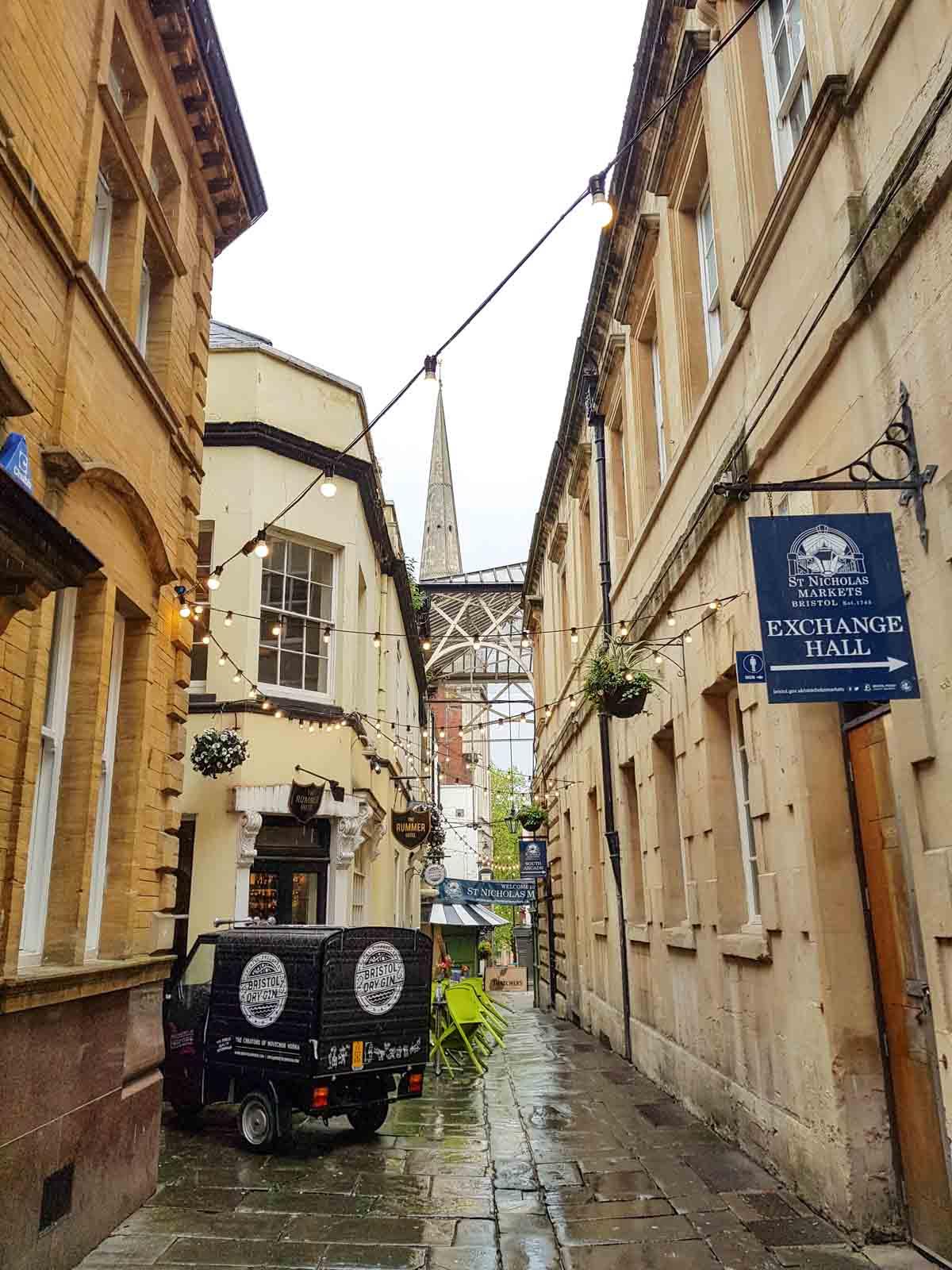 St Nicholas Markets, De leukste dingen om te doen in Bristol - Map of Joy