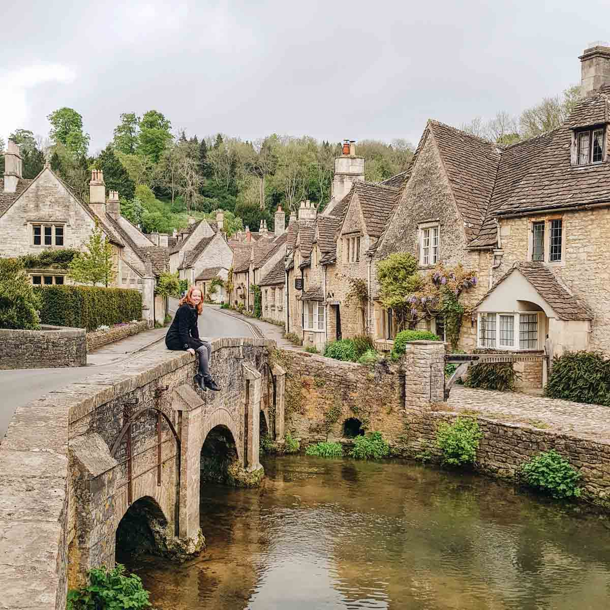 Castle Combe in de Cotswolds Engeland - Map of Joy