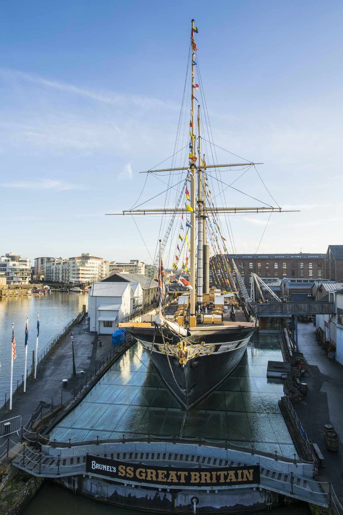 SS Great Britain, de leukste dingen om te doen in Bristol - Map of Joy